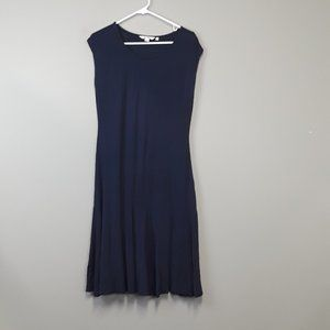 Boden Navy Sleeveless Jersey Dress Size 8L
